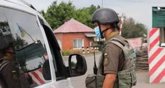 Нацгвардійці затримали на блокпосту проросійського бойовика