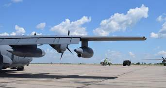 Для участі у спільних навчаннях: літаки та військові США прибули в Україну