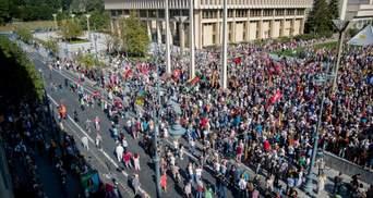 В Литве вспыхнули массовые протесты антивакцинаторов