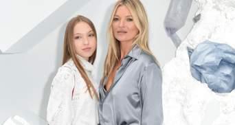 18-летняя дочь Кейт Мосс гуляла в Италии и очень напомнила свою мать в юности: фото