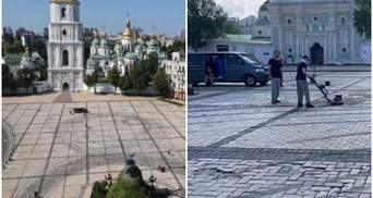 Очень скользко, нет баланса, – гонщики перед скандалом рассказали о дрифте на Софиевской площади
