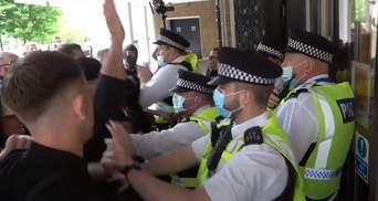 У Лондоні антивакцинатори при спробі штурму BBC переплутали будівлі