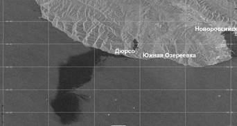 Зменшили у 400 тисяч разів: Росія приховала реальні масштаби викиду нафти у Чорне море – фото
