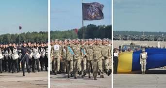 Міноборони показало репетицію параду до Дня Незалежності: фото і відео