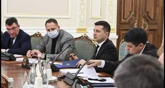 Зеленский поручил Данилову собрать заседание СНБО: известна дата
