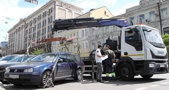 Из-за уголовного дела: в Киеве заблокировали работу инспекции по парковке