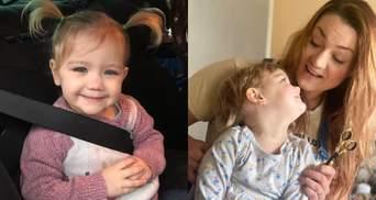 2-летняя девочка схватила ножницы и подстригла себе волосы: что получилось у ребенка