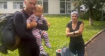Попали в грозу с младенцем: в Карпатах спасли семью, которая заблудилась в горах