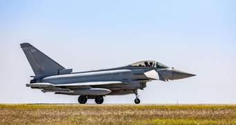 """Британські """"Тайфуни"""" перехопили поблизу Румунії російський винищувач"""