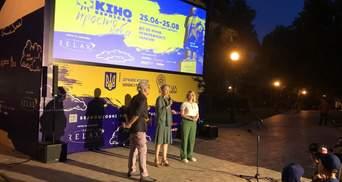 Киновернисаж под открытым небом празднует 30-летие Независимости Украины: первая часть программы