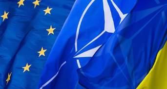 За вступление Украины в ЕС выступают 64% украинцев: сколько видят страну в НАТО