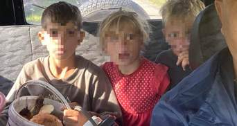 Голодные, грязные и напуганы: как нашли детей из Закарпатья, что пошли по грибы и заблудились