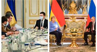 Новые санкции от СНБО, встреча Путина и Меркель: главные новости 20 августа