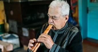 Человек-оркестр из Прикарпатья: уникальный мастер рассказал о жизни ради музыки