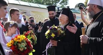 У Михайлівському соборі пройшла подячна молитва з Варфоломієм: теплі фото