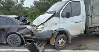 В сокрушительном ДТП на трассе Киев – Чоп пострадали 5 человек, среди которых 8-летний ребенок