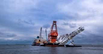 """В водах Дании завершили укладку труб """"Северного потока-2"""""""