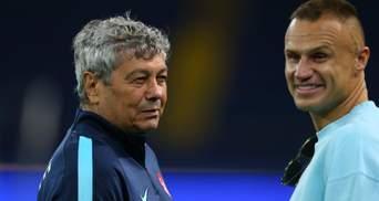 Легенда Шахтера Шевчук помогал Луческу определиться с составом Динамо