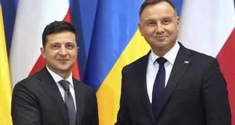Место Украины – в ЕС: совместное заявление Зеленского и Дуды