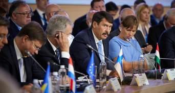 Президент Угорщини на Кримській платформі бідкався на долю угорців