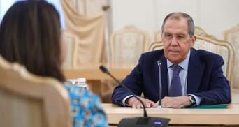 Лавров заявив, що Зеленський розпалює міжнаціональний конфлікт