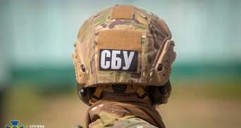 СБУ під час навчань на лінії фронту знайшла схрон окупантів