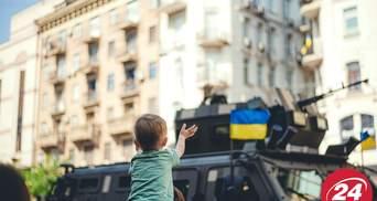 Феєричний парад до Дня Незалежності у яскравих фото