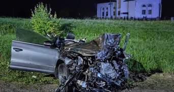 Моторошна ДТП на Львівщині з трьома загиблими: п'яному 19-річному водієві повідомили про підозру