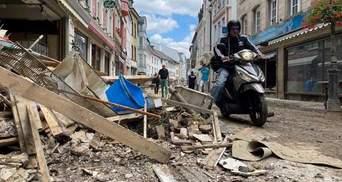 Страшные последствия наводнения в Германии: убытки выросли до 7 миллиардов евро