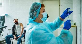 В Украине установили новый рекорд прививок против коронавируса