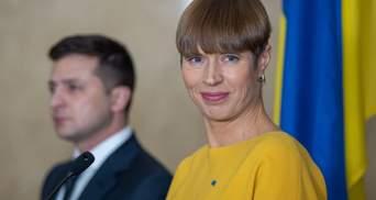 У дискусії щодо слів президентки Естонії з'явився цікавий момент