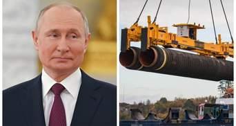 """Ляпас Путіну й """"Газпрому"""": у Росії стався конфуз з """"Північним потоком-2"""""""