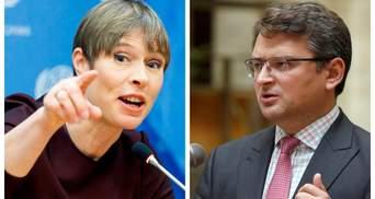 """Неуместное заявление, – Кулеба возмущен словами главы Эстонии о """"20 годах для вступления в ЕС"""""""