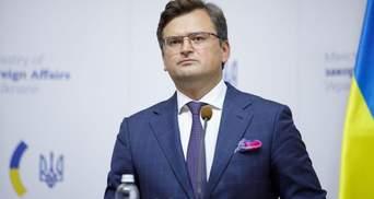 Питання про перенесення переговорів ТКГ не обговорюється, – Кулеба