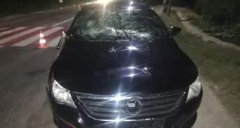 В Запорожской области пьяный водитель сбил 2 детей и подростка: тела разбили лобовое стекло