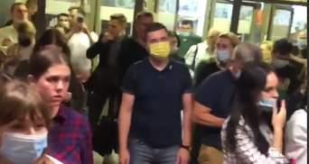 В метро Киева произошел коллапс из-за неисправности системы оплаты