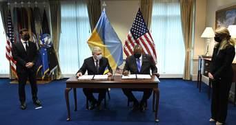 Україна та США підписали угоду про стратегічні основи оборонної співпраці