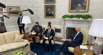 На зустрічі із Зеленським Байден сказав, що хоче ще раз відвідати Україну