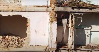 В Дрогобыче демонтируют дом, во время обвала которого погибли 8 человек