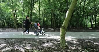 У львівському парку Франка проводять ремонт за 4 мільйони гривень коштом анонімного благодійника