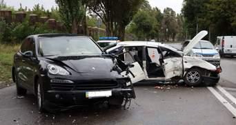 В Днепре произошло сокрушительное ДТП Porsche и Volkswagen: пострадали 3 человека