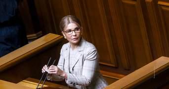 Лишили триумфа: закон о народовластии мог стать для Тимошенко обратным билетом в политику