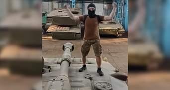 Снимали танцы на танке: блогеры проникли на Харьковский тракторный завод
