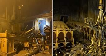 Як виглядає костел святого Миколая після пожежі: сумні фото