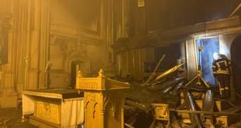 Унікальний орган згорів ущент, – єпископ про пожежу в костелі святого Миколая