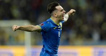 Шапаренко невероятным голом открыл счет в матче с Францией: видео