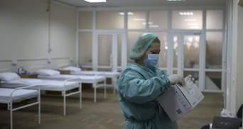 За сутки в Украине обнаружили более 1 300 новых больных