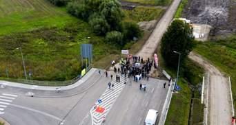 На польско-украинской границе начали строительство нового пункта пропуска: фото с места событий