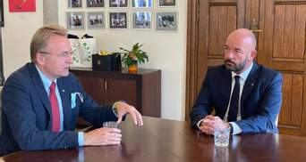 Садовий обговорив з мером Вроцлава трагічну загибель українця Никифоренка