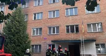 Пожар в общежитии университета Умани: возросло количество пострадавших